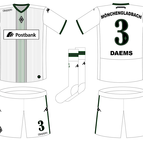 Borussia Mönchengladbach Home Kit