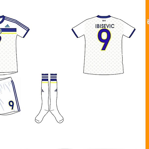 Bosnia Away Kit