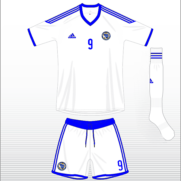Bosnia Hercegowina Away kit