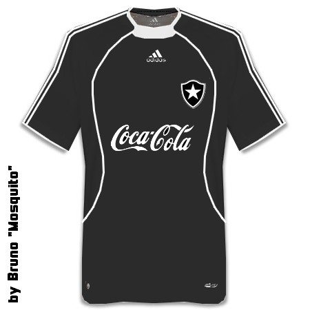 Botafogo Black with Adidas and Coca-Cola by Mosquito