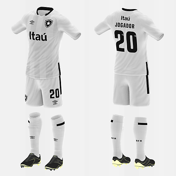 Botafogo (Away/Umbro) (#fbrkits1920)