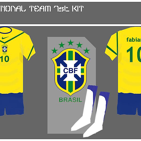 Brazil 1st kit