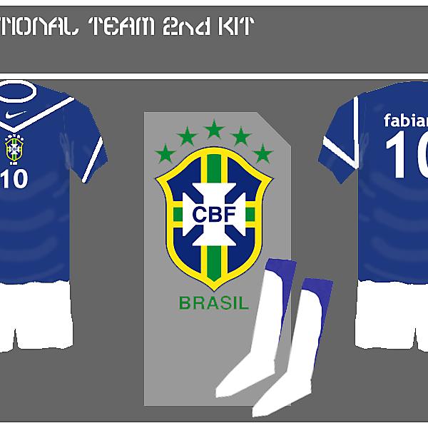 Brazil 2nd kit