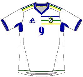 Brasil Adidas Third