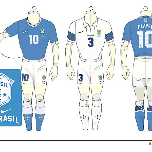 Brasil Away Kits