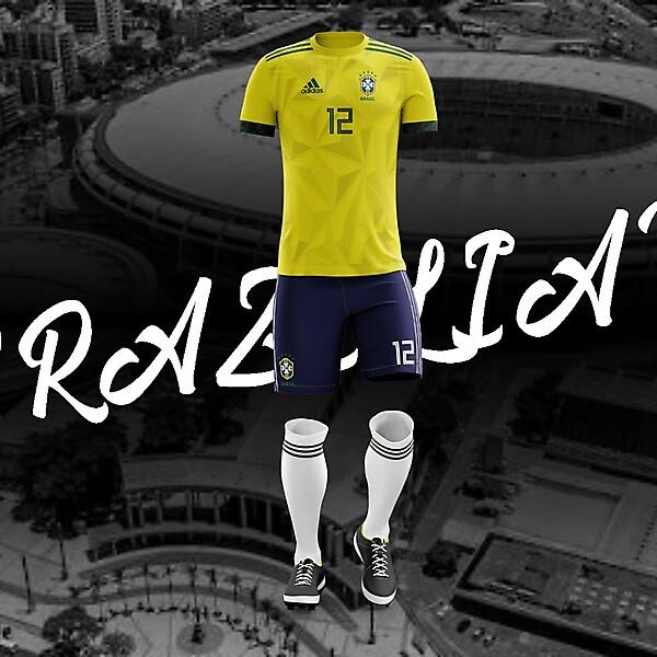 Brazil / Brasil 2020 Kit Concept ( Adidas )