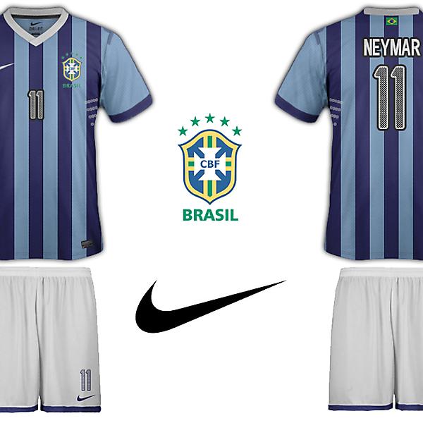 Brazil Nike Away Kit