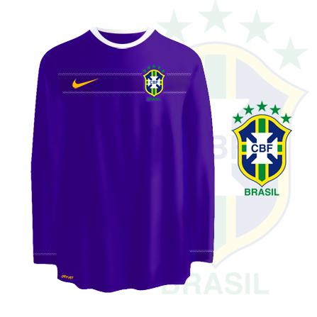 Brazil away kit