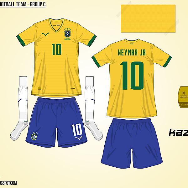 Brazil Home - Group C, 2015 Copa América
