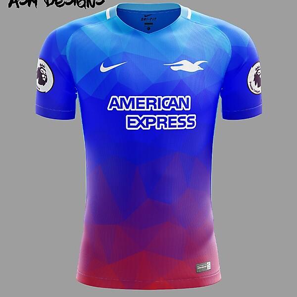 Brighton & Hove Albion F.C. Nike 2018 Away Kit