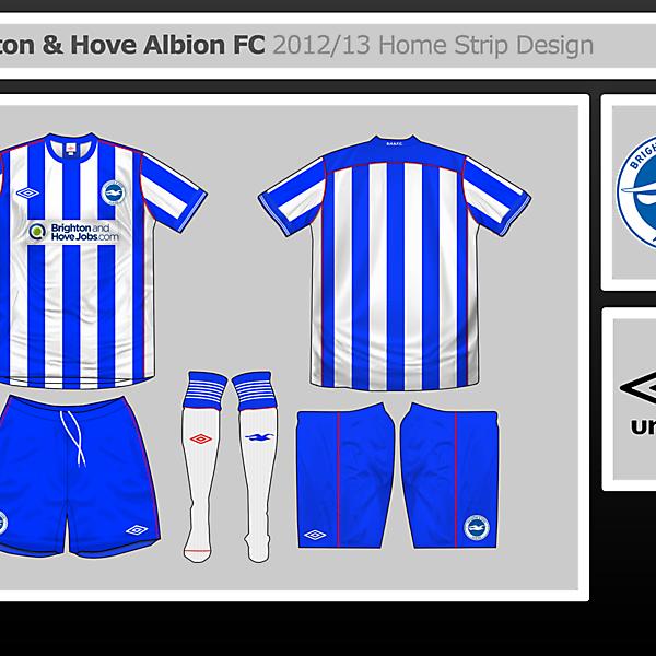 Brighton Home Shirt Design