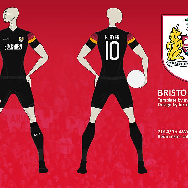 Bristol City FC Away Kit