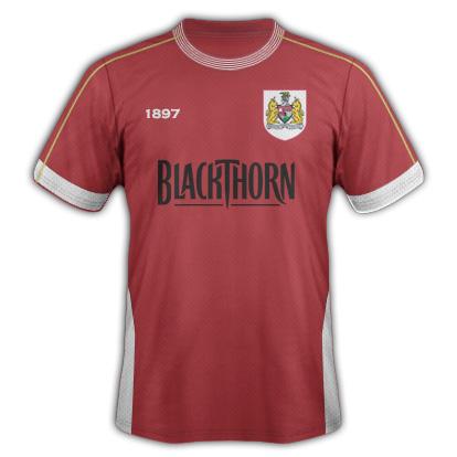 Bristol City kit 3