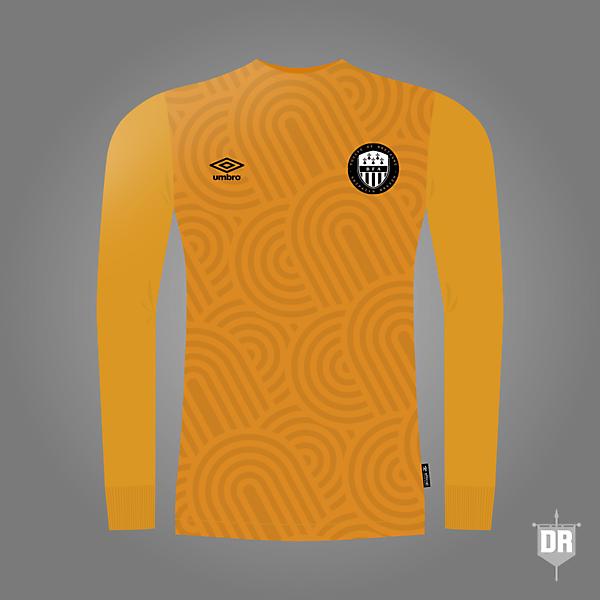 Brittany Football Team GK Kit 1