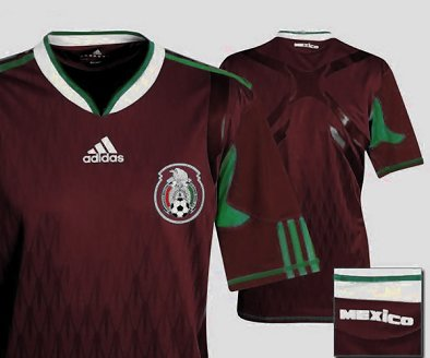 Mexico 3rd burgundy 10/14
