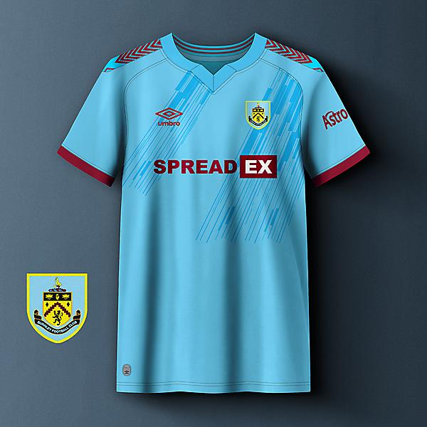 Burnley away concept