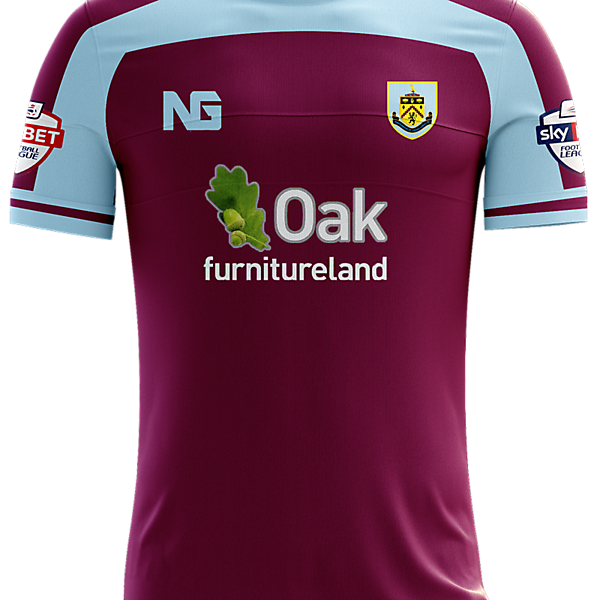 Burnley Home Jersey concept
