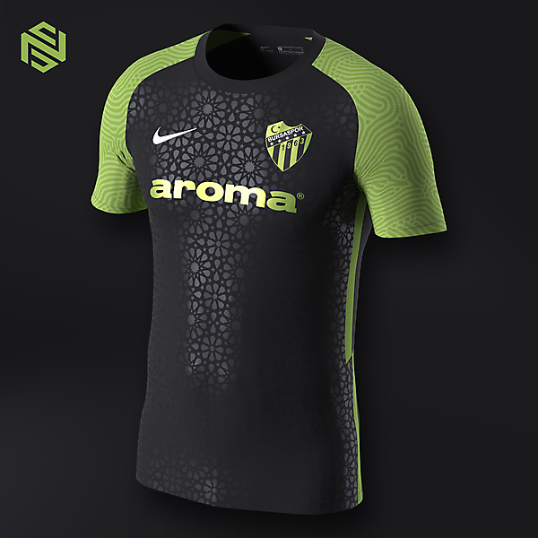 Bursaspor Third x Nike Strike II