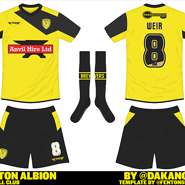 Burton Albion Home