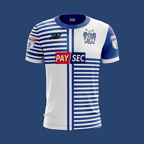 Bury F.C. New Balance 2018 Home Kit