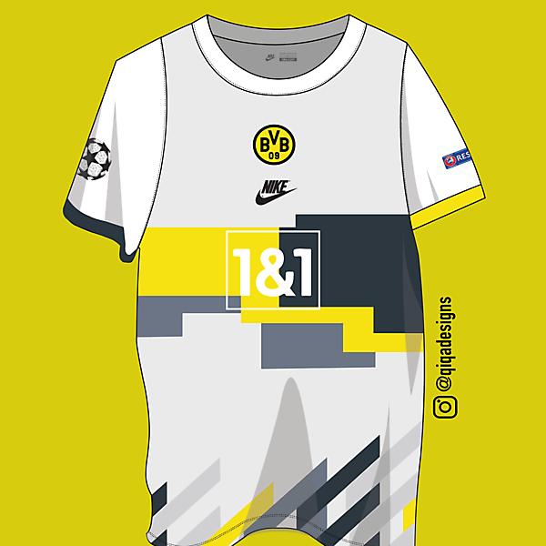BVB x Nike European Away Shirt