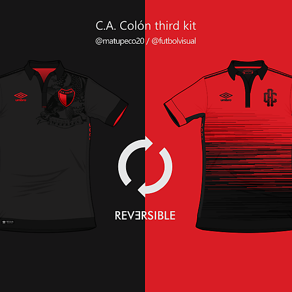C.A. Colón Third 2016 - Reversible