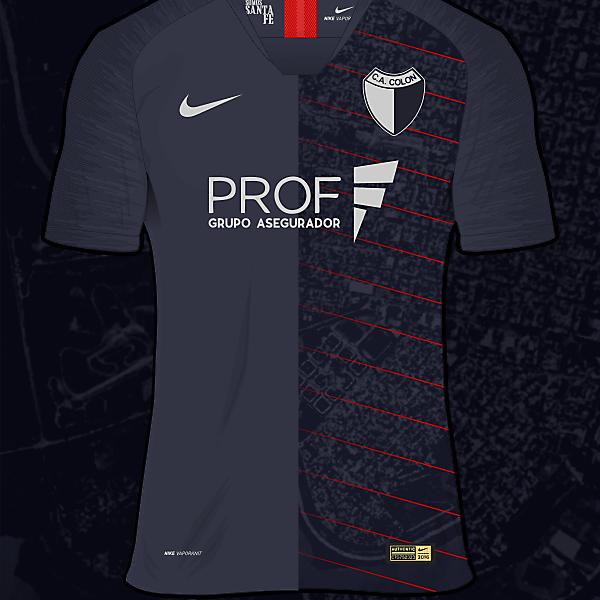 C.A. Colón Third shirt