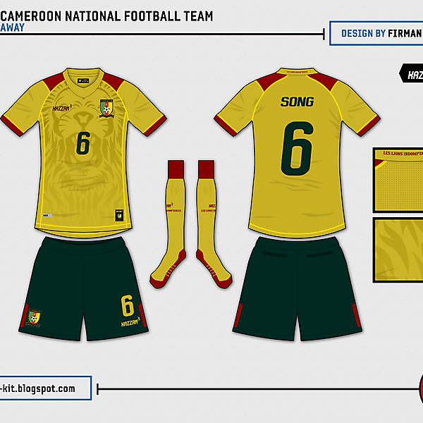 Cameroon Away