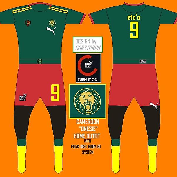 Cameroon Puma Disc Onesie Kit