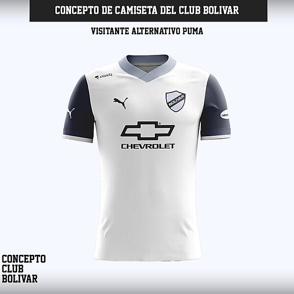 Camiseta Club Bolívar - Concepto Visitante Alternativo