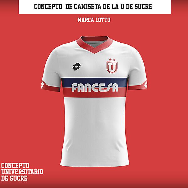Camiseta Universitario de Sucre - Concepto