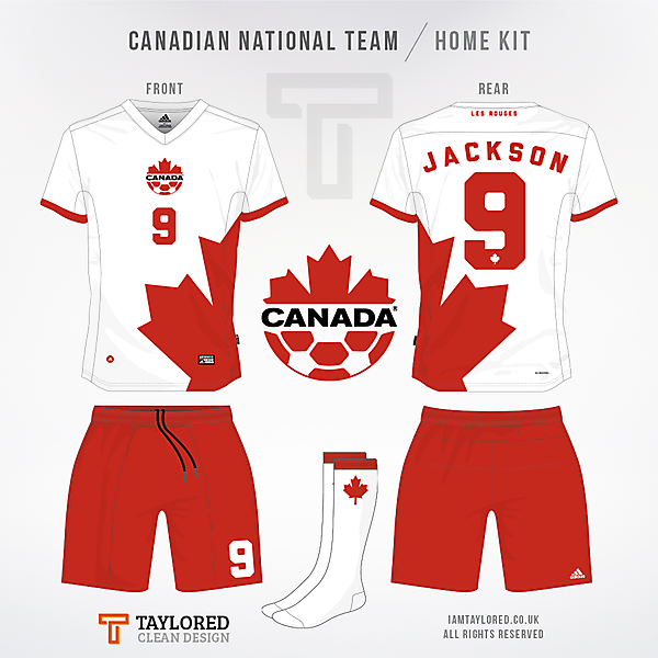 Canada Kit [World Cup Comp - Qualification]