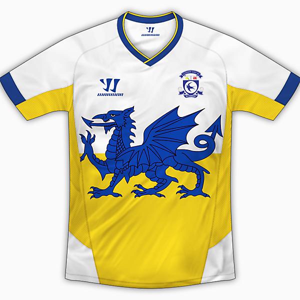 Cardiff City Away Shirt - Warrior