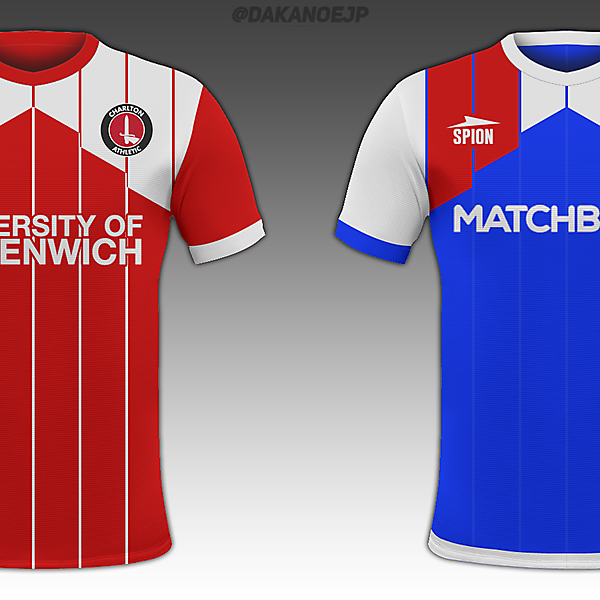 Cascade II - Fulham, Charlton, Brentford Away, Blackburn Away