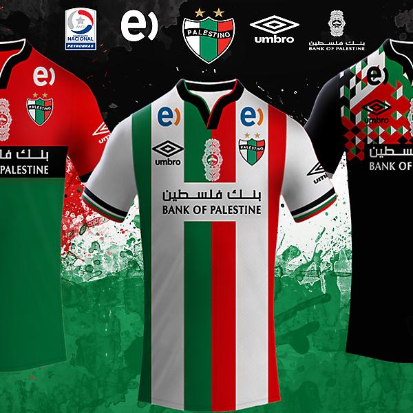 CD Palestino Umbro Kits