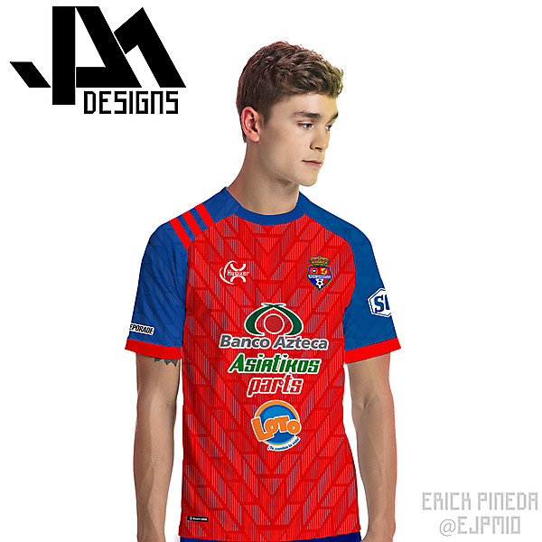 C.D. Real Juventud (Honduras) Away Concept Kit