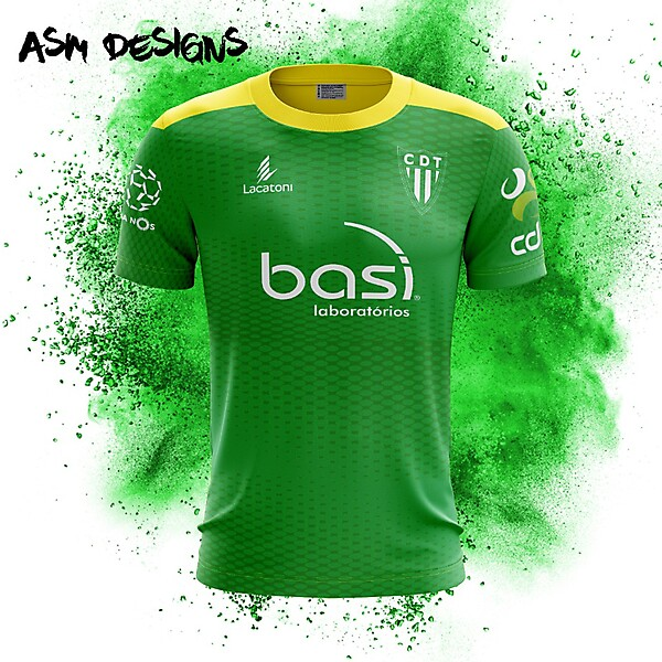 CD Tondela Lacatoni 2018 Home Kit