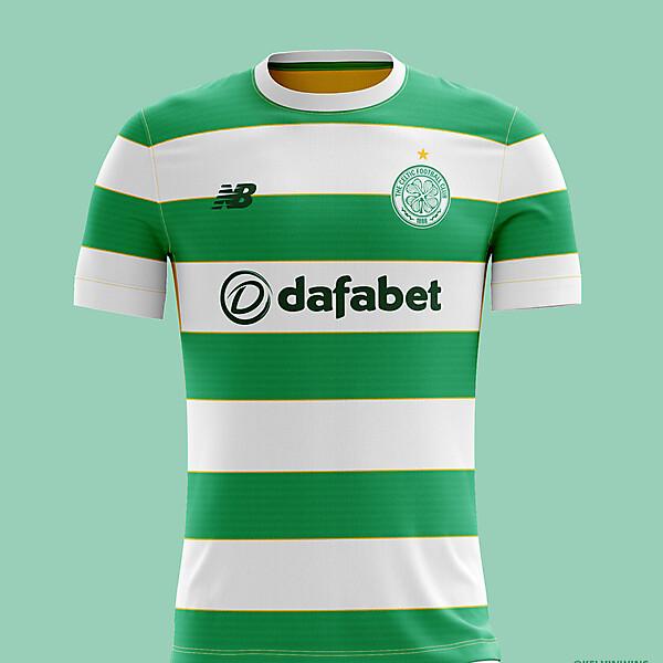 Celtic - Home Kit Concept #celticfc