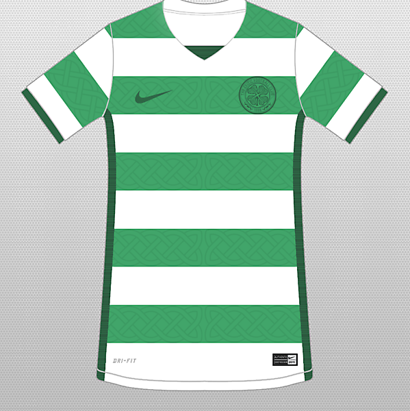 Celtic 17-18 Home ? / With Nike