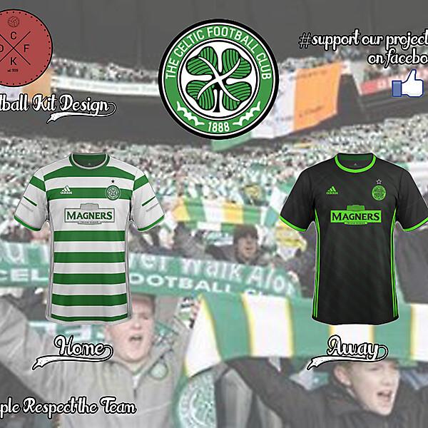Celtic Adidas Concept 2016/2017