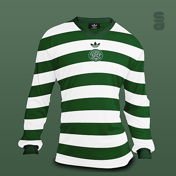 Celtic FC - Retro home kit