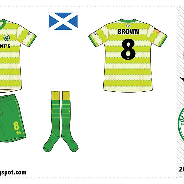 Celtic FC away kit by @kunkuntoto