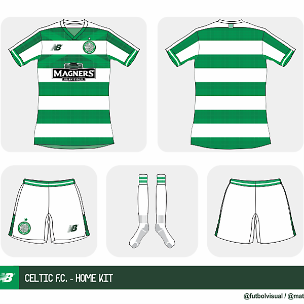Celtic FC by New Balance - Prediction -