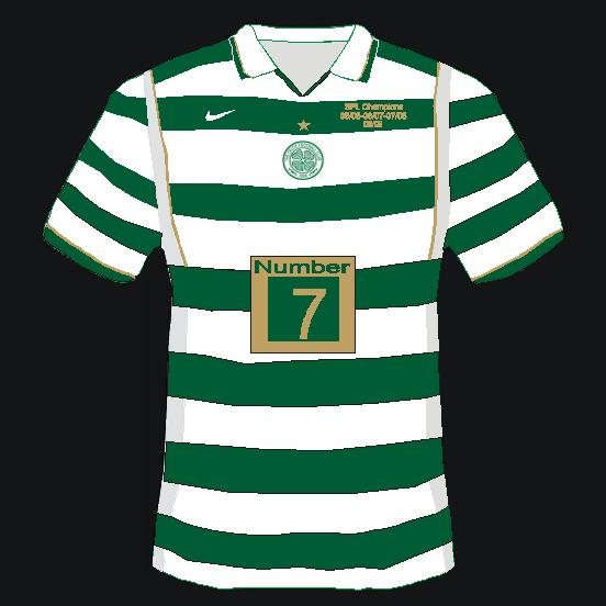 celtic four in a row home shirt