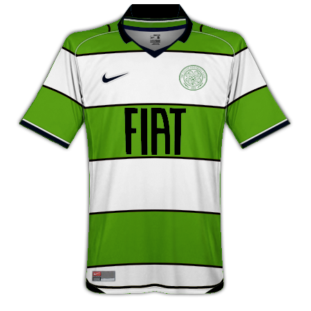 Celtic Home, Away and Third