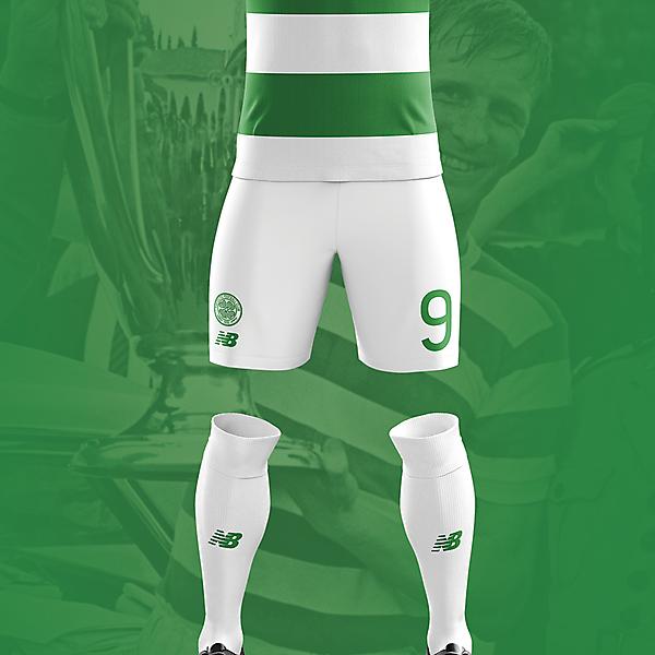 Celtic Home Kit 17/18 Concept