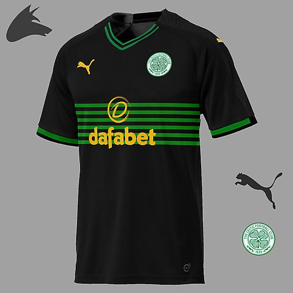 Celtic Puma away concept