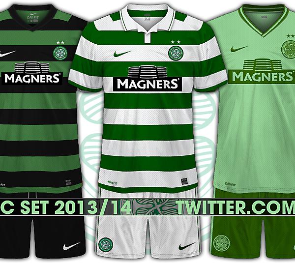 Celtic 2013/14 Set.