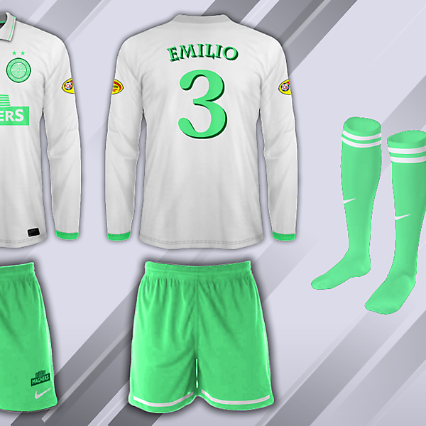 Celtic Fantasy Away 13/14