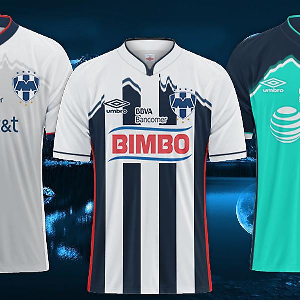 Cf Monterrey / Umbro Kits
